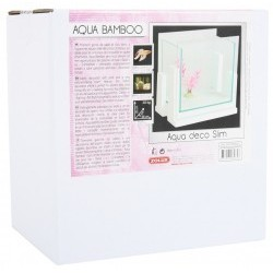 Aqua deco bamboo slim blanc 3.25l
