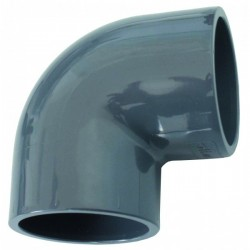Raccord PVC en angle 90° 50mm