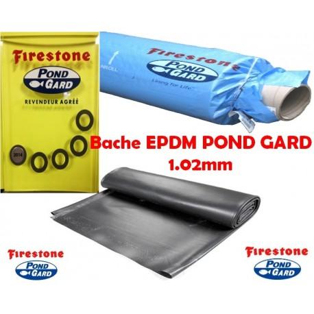 Bâche EPDM Firestone 7.62m de large tarifs au m²
