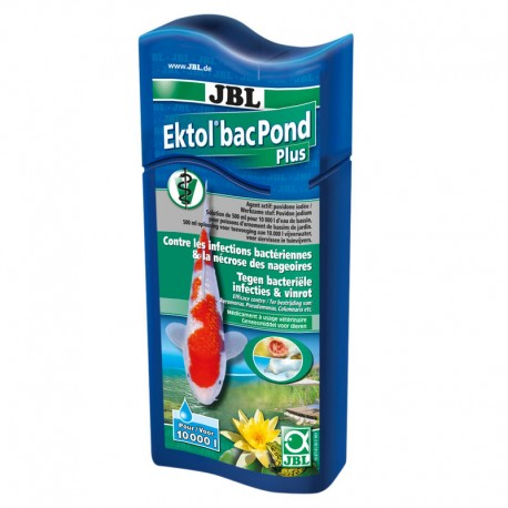 JBL Ektol bacPond plus 500ml pour 10 000 litres