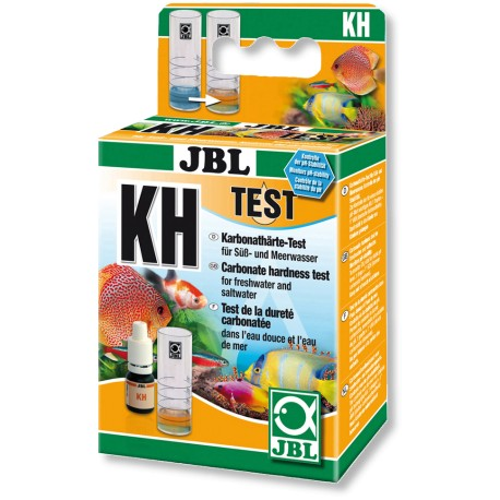 Test JBL KH dureté carbonaté