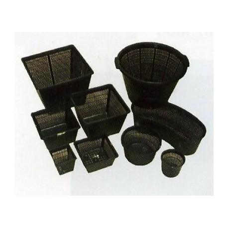 paniers ronds en plastique diam tre 13x10cm jm distribution. Black Bedroom Furniture Sets. Home Design Ideas
