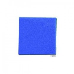 Mousse bleu 100x100x10cm
