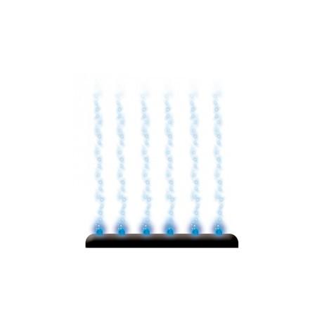 Diffuseur bubble bar led bleu jm distribution for Bache epdm bleu