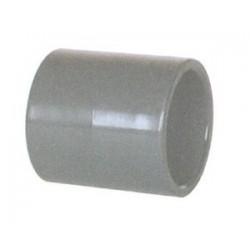 Raccord PVC Droit 63 mm
