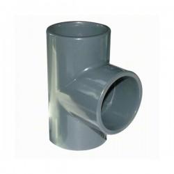 RACCORD TE PVC PRESSION 40MM